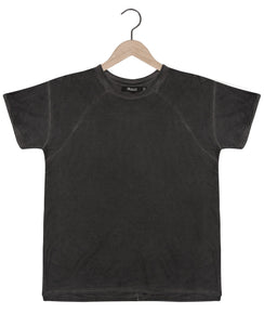 Tigran Bamboo Tee in Antique Black