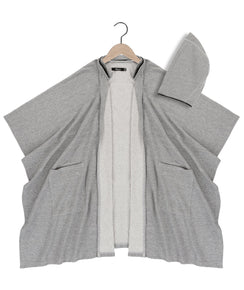 Anakin kimono in heather grey - DE LA COMMUNE x Reese De Luca