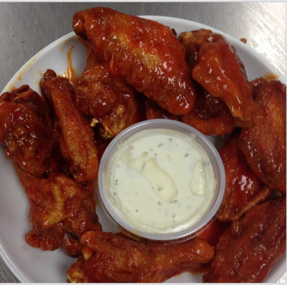 HOT OR BBQ WINGS