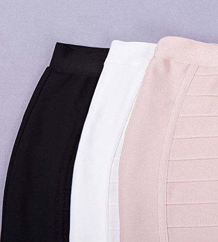 BEYOND LAVISH Bandage  Midi Skirt