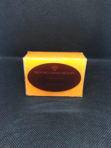 Beyond Lavish Skin brightening soap bar