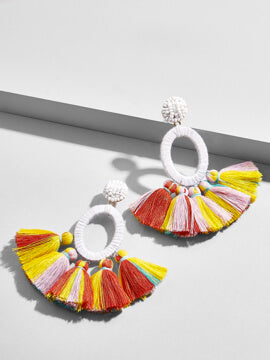 Sabriya Tassel Earrings