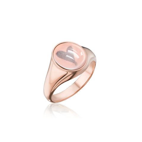 "SAMPLE SALE- ""Love Yourself"" Pinky Ring Size 2.75"
