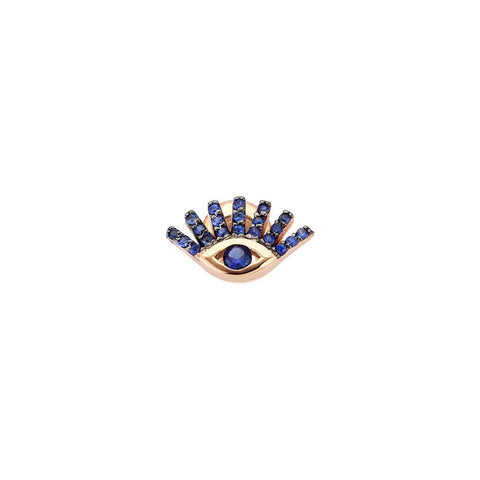 Pave Evil Eye Earring