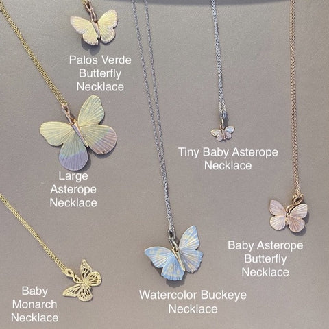 Tiny Baby Asterope Necklace