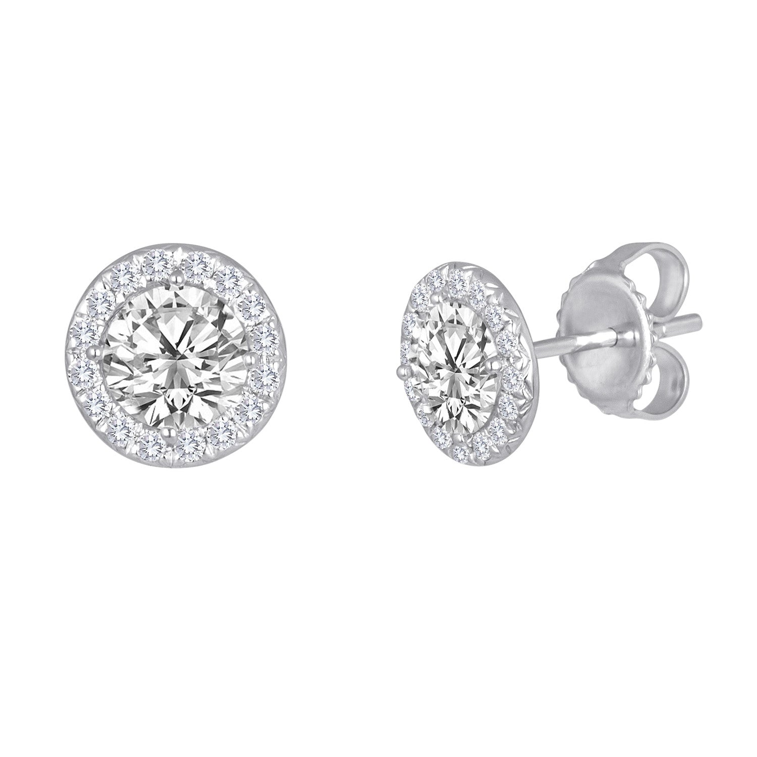 Halo Studs – Stephanie Gottlieb Fine Jewelry