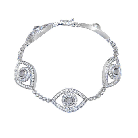 Five Eye Tennis Bracelet