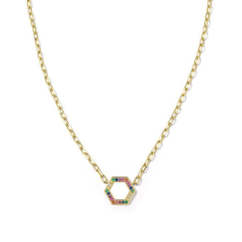 Rainbow Foundation Necklace