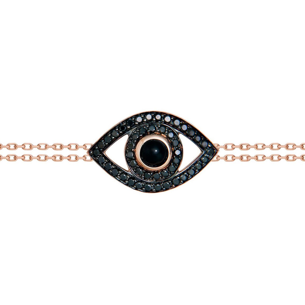 Black Diamond Eye Bracelet