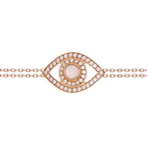 Big Diamond Eye Bracelet