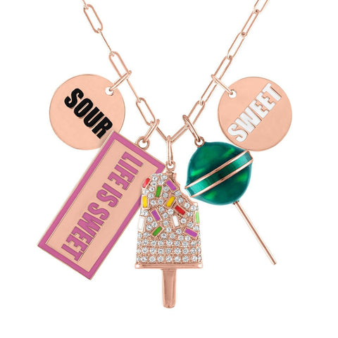 Candy Necklace Charm Builder