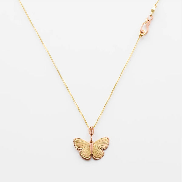 Palos Verde Butterfly Necklace