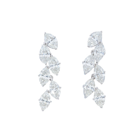 Marquise Dangle Drop Earrings