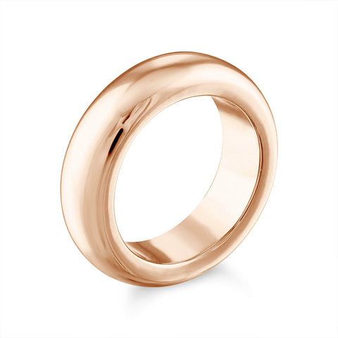 Domed Gold Ring