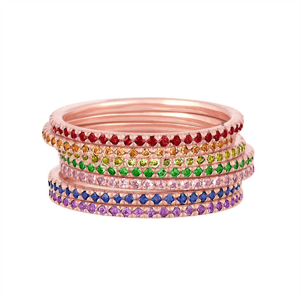 Rainbow Stack Bands
