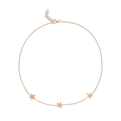 Triple Star Anklet