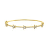 Pave Multi Star Bangle