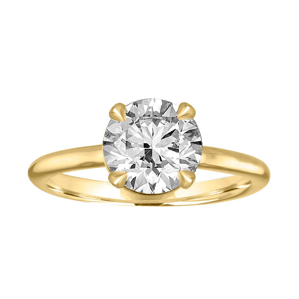 gold yellow diamond the ring brilliant cut collection image hidden bridal