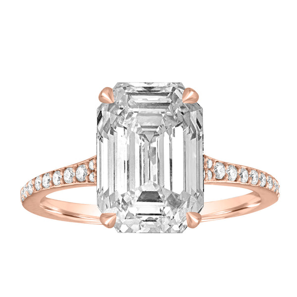 Signature Tapered Pave Engagement Ring