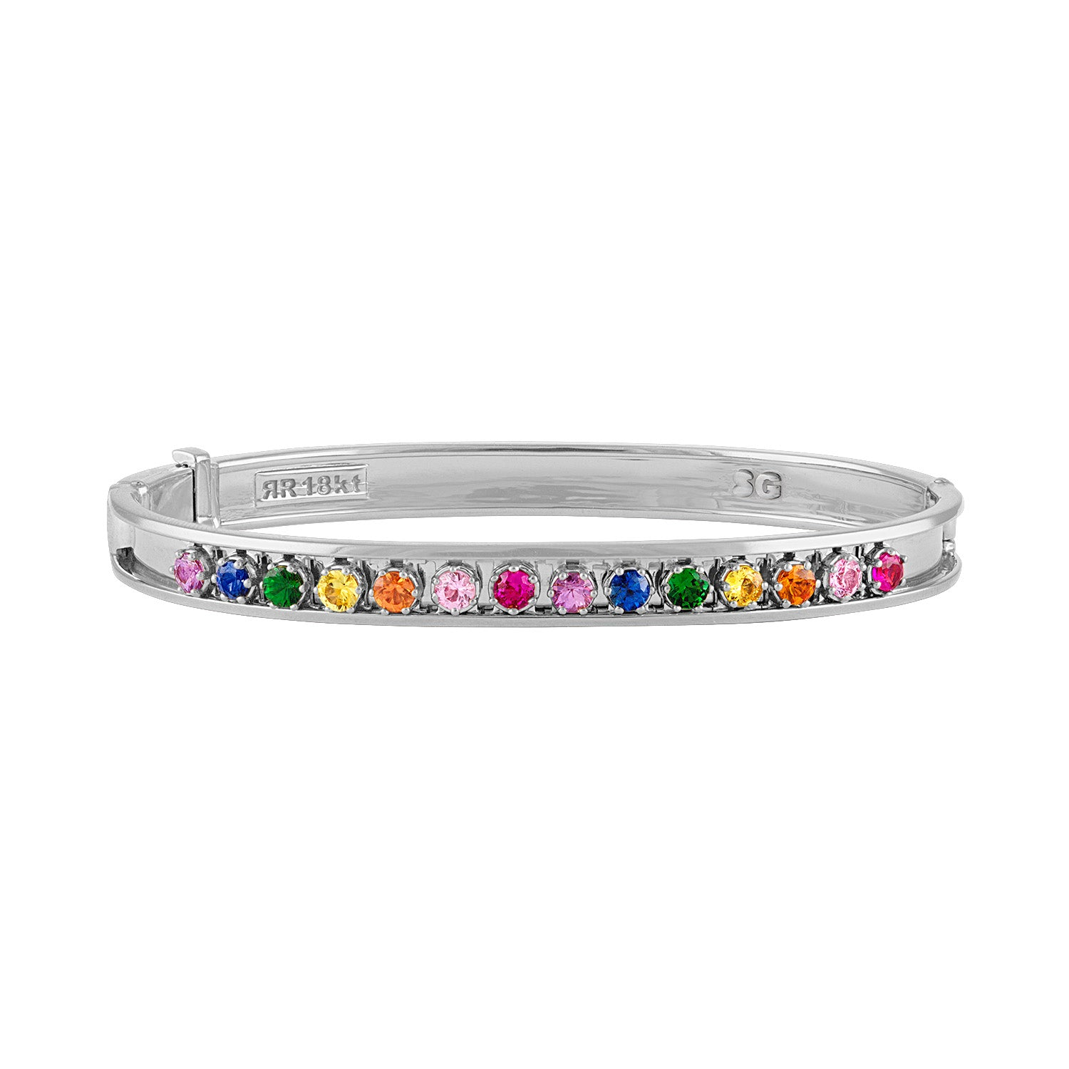 Mini Rainbow Slider Bangle
