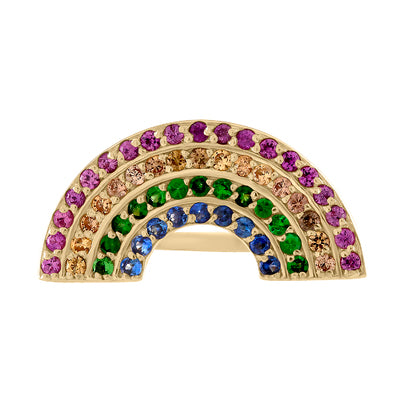 Rainbow Arc Ring