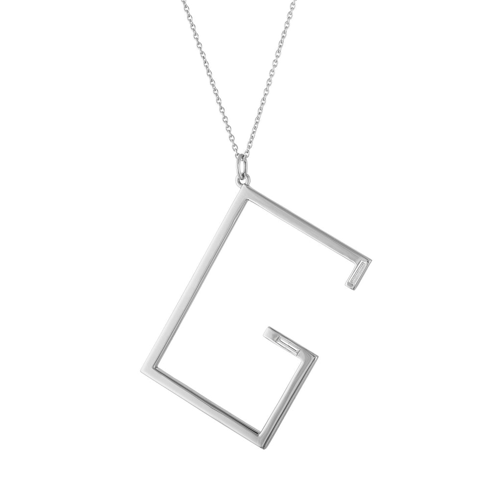 Deco Initial Necklace