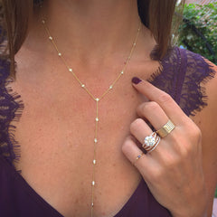 Diamond by the Yard Lariat
