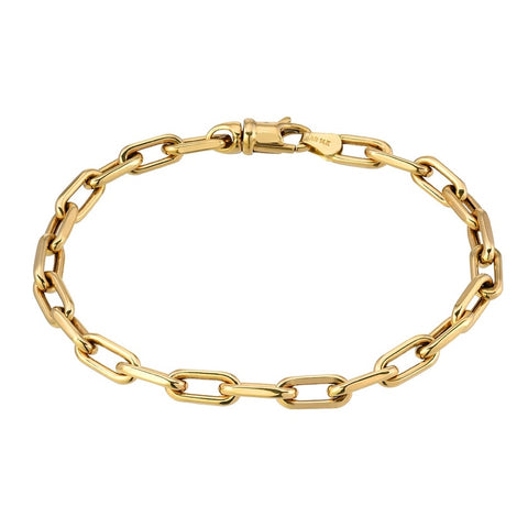 Large Box Chain Anklet
