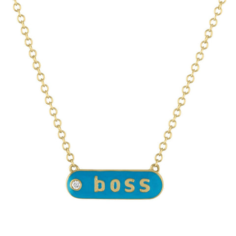 "The Magnolia ""BOSS"" Necklace"