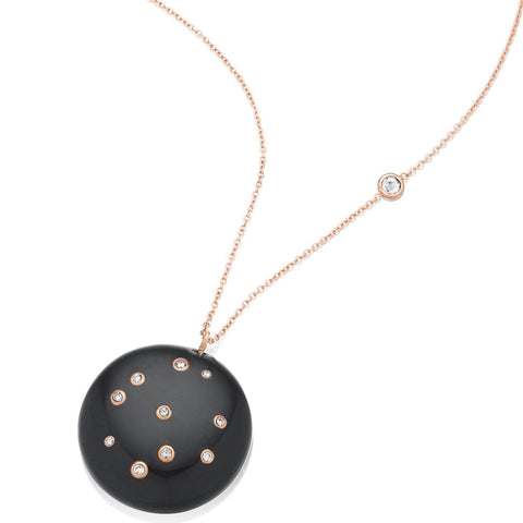 Black Onyx Constellation of Life Necklace
