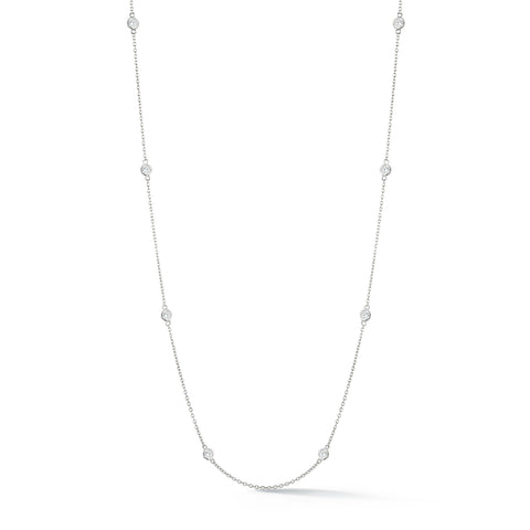 8 Stone Diamond Necklace