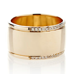 Pave Rae Ring