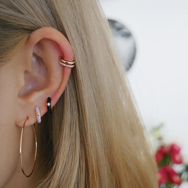 Gold Cartilage Ear Cuff