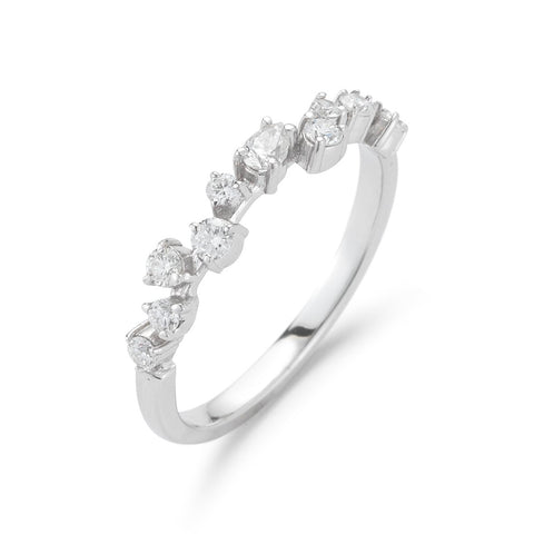 Petite Stardust Diamond Ring