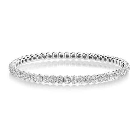 Men's Pave Ball Bracelet