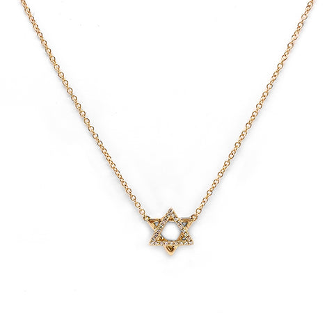 IN STOCK - Star of David Necklace
