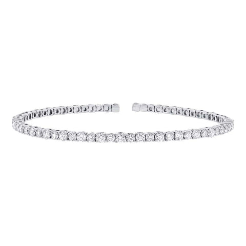 Flexible Diamond Cuff