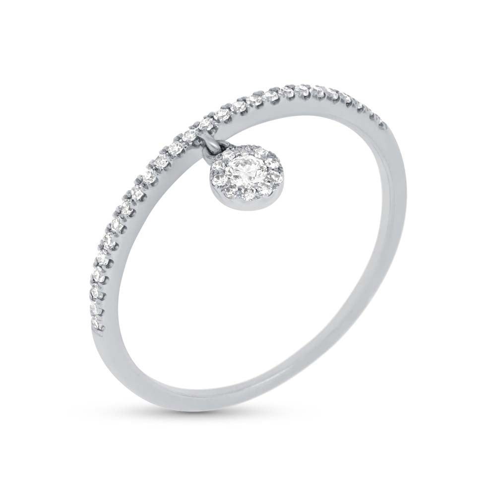 Diamond Band with Charm