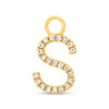 Gold Hoop Earring Charms