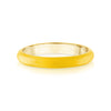 Colored Enamel Thin Ring