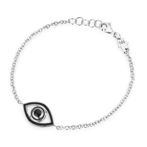 Mini Enamel Eye Bracelet