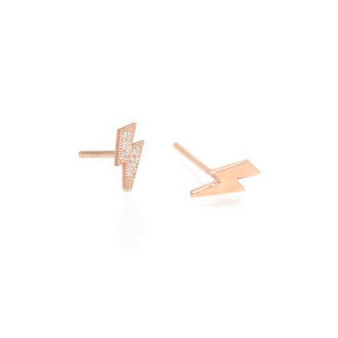 Itty Bitty Lightning Bolt Studs