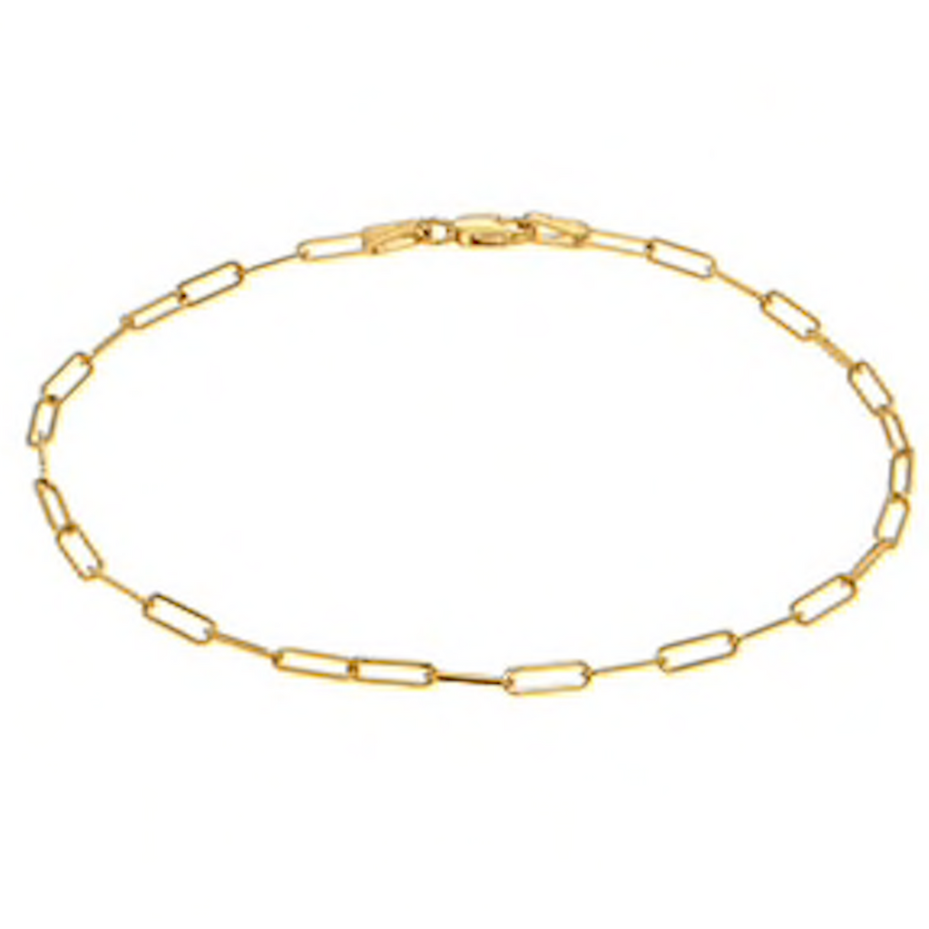 Box Chain Anklet
