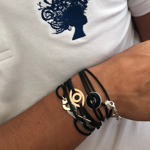 Men's Evil Eye Rope Bracelet