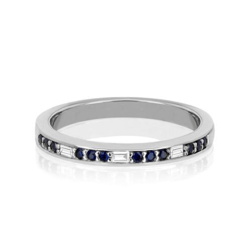 Diamond Segment Stack Ring