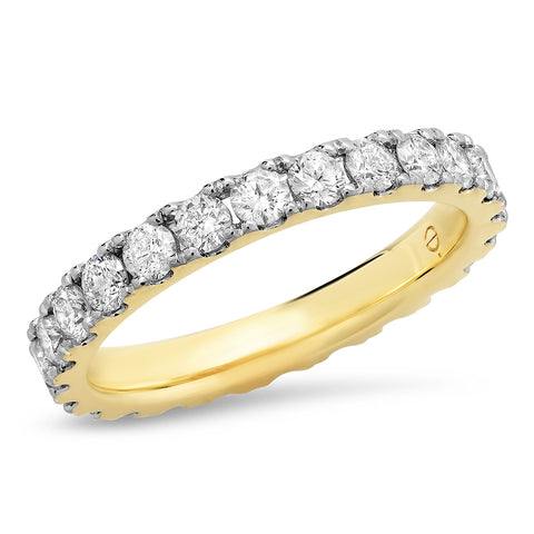 Large Diamond Stack Band