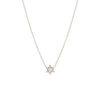 Pave Star of David Necklace
