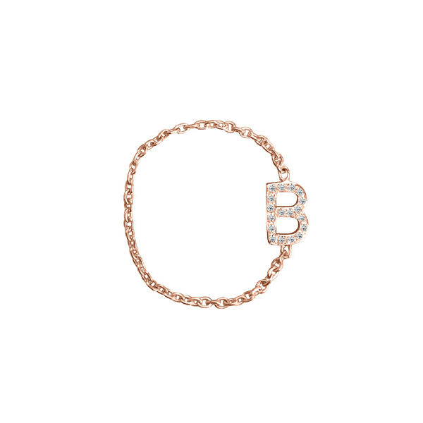 Pave Mini Initial Chain Ring