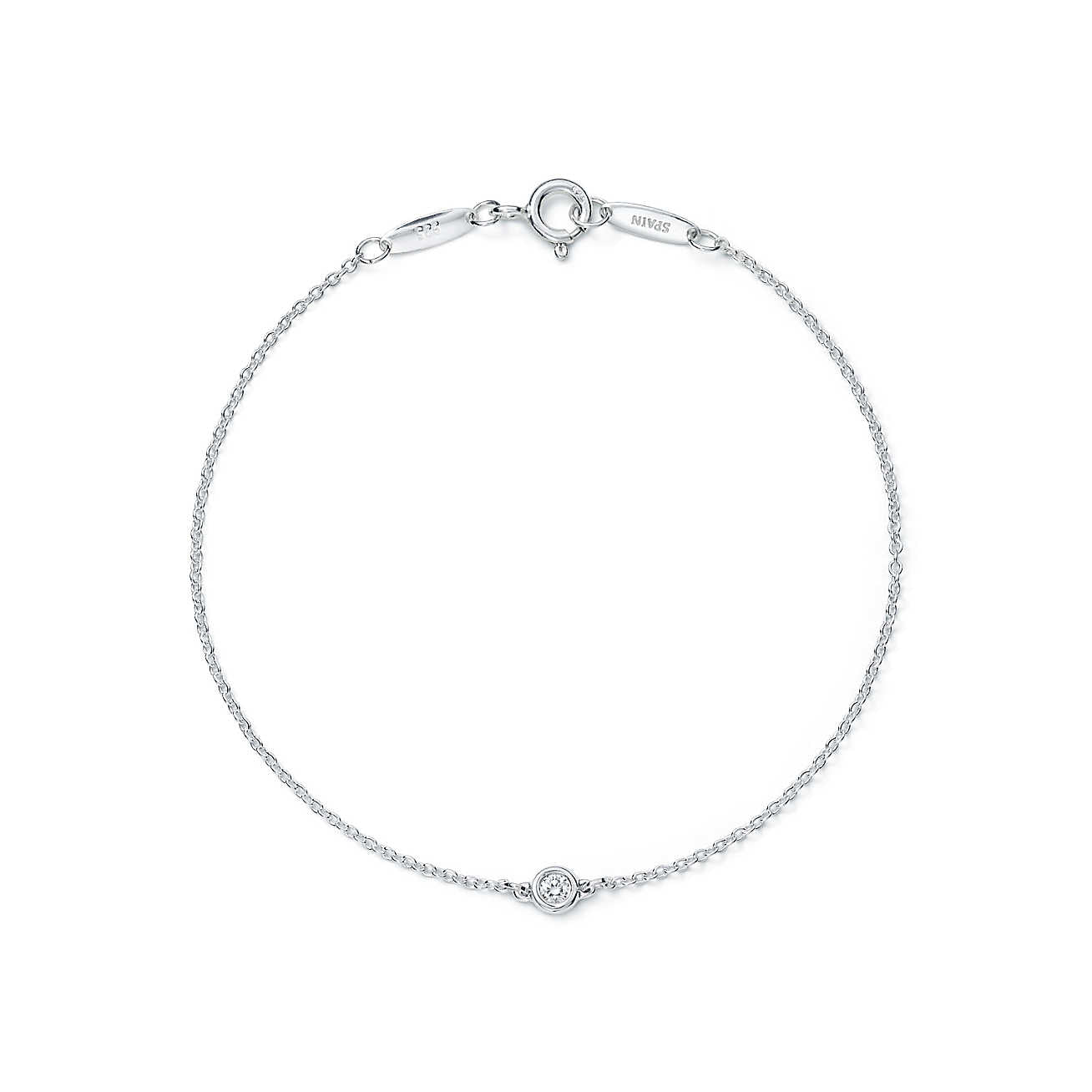 Single Stone Diamond by the Yard Bracelet