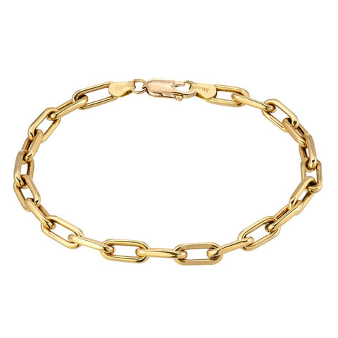 Large Box Chain Bracelet